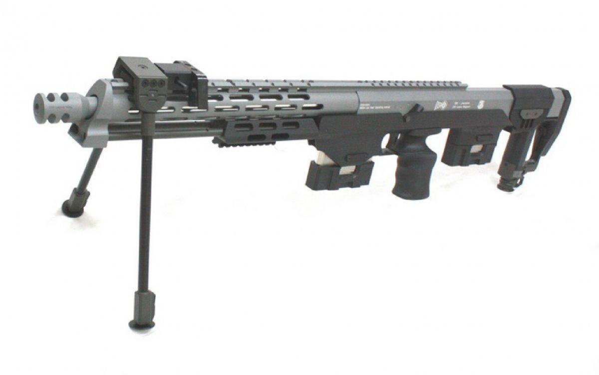 b742816f9bc S T DSR-1 Spring Sniper Kit - Black Grey