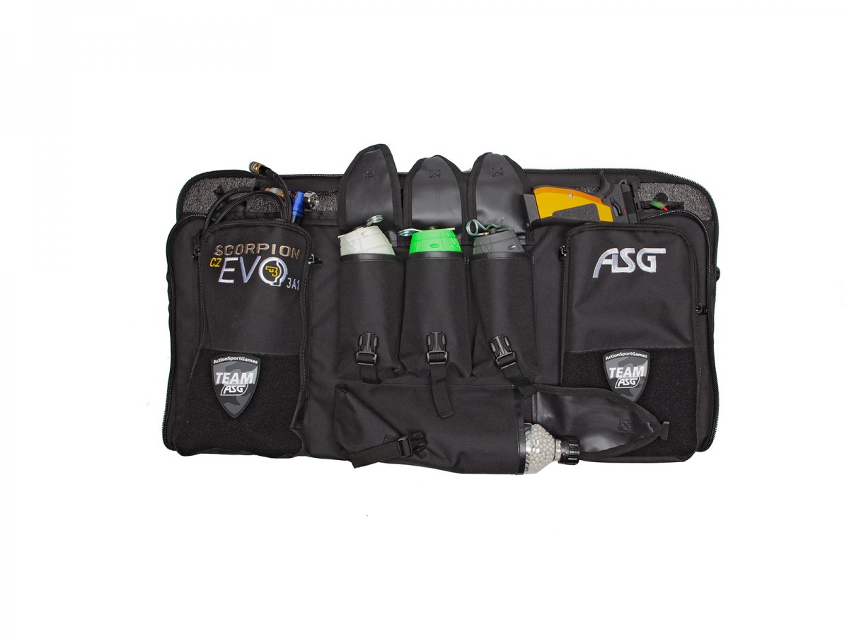ASG Scorpion Evo 3 A1 CarbineB.E.THPA Bag with custom foam inlay