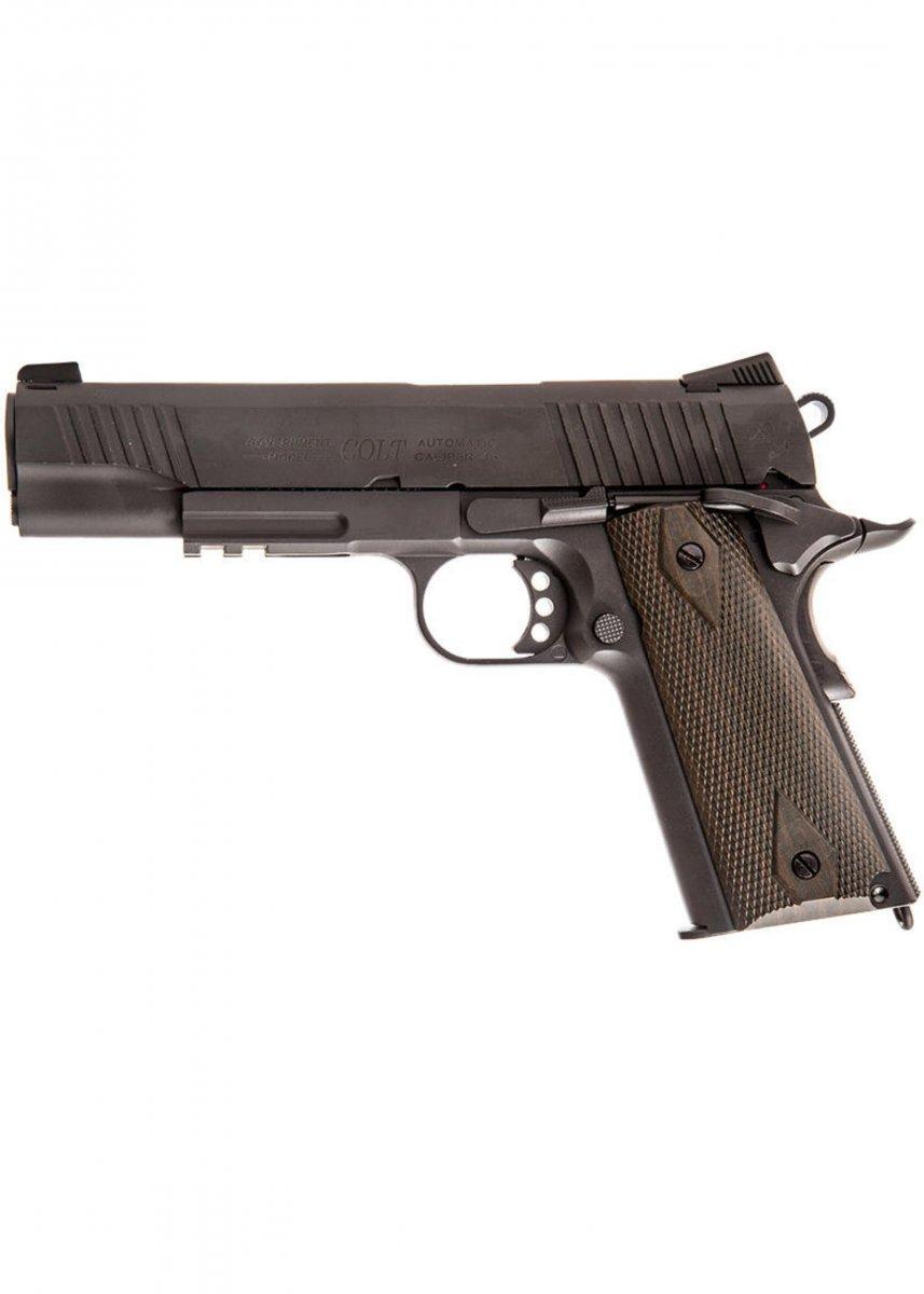 Colt 1911 Rail - Blackened CO2 6mm