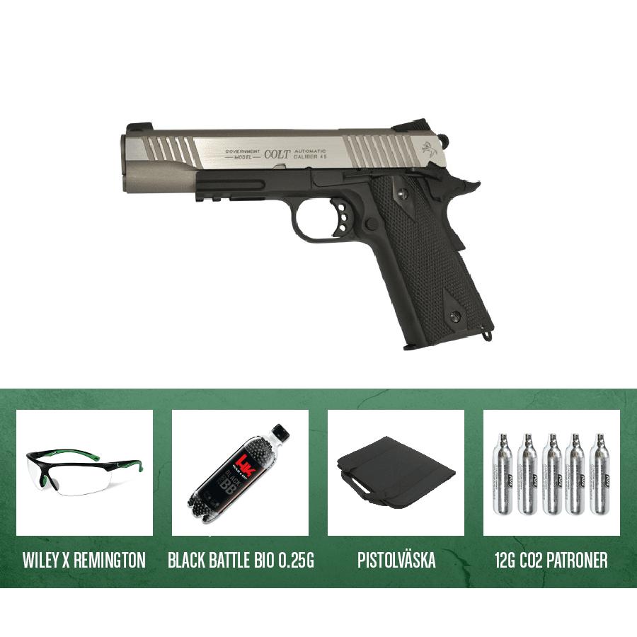 Colt 1911 Rail - Dual Tone CO2 6mm Kit