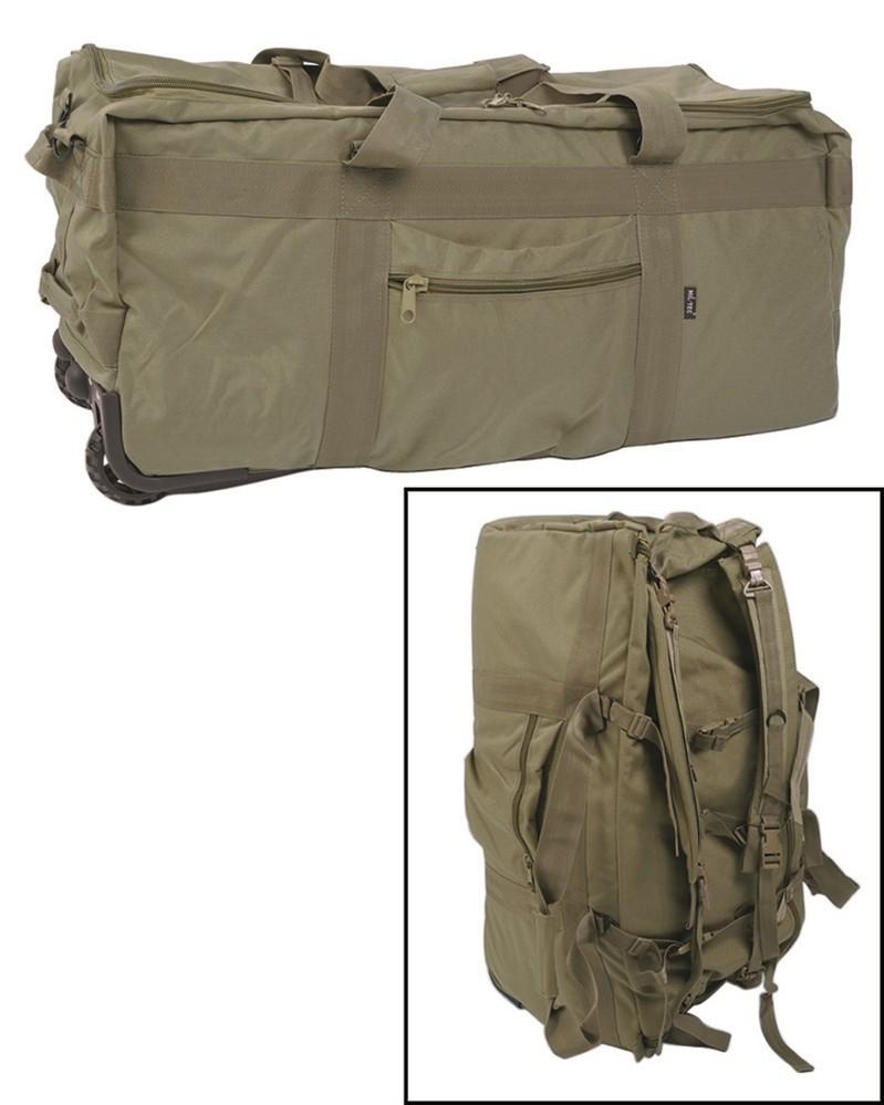 Miltec Combat Duffel Bag With Wheels Od