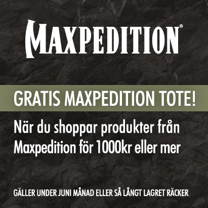 Maxpedition - Gratis Tote!
